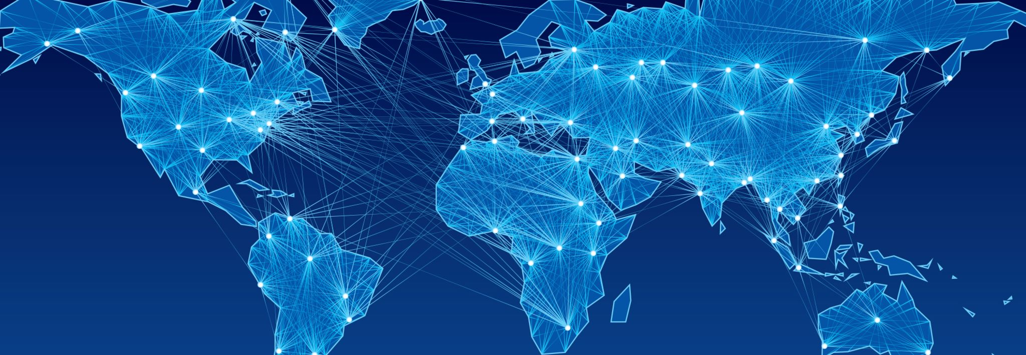 A blue digital map of the world represents CCU's World Changers Weekend.