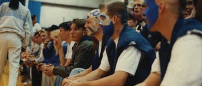 Fans at a CCU Athletic Event in 1993