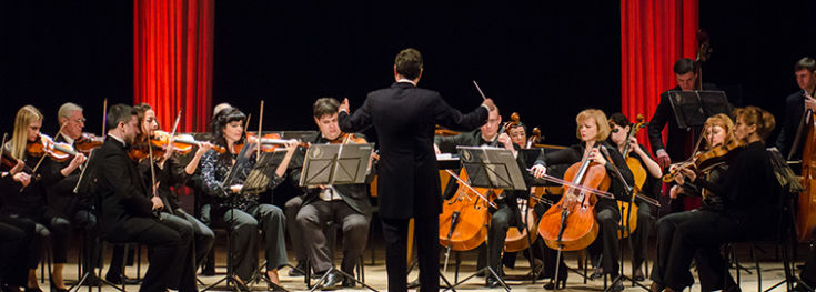 conducor during concert