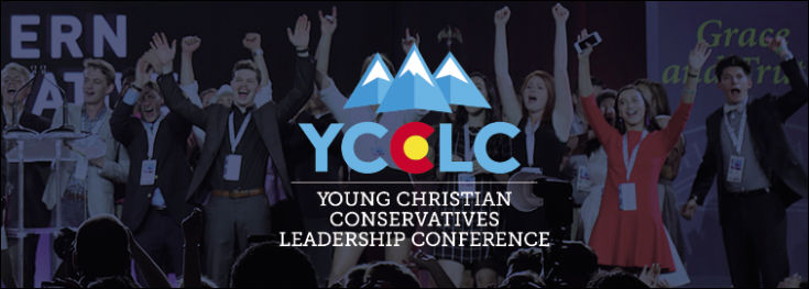 Students at a Young Christian Conservatives Leadership Conference