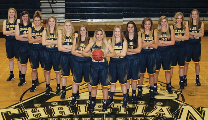 2014-15 Women's Basketball team