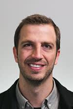 Dr. Mark Hallock black and white photo