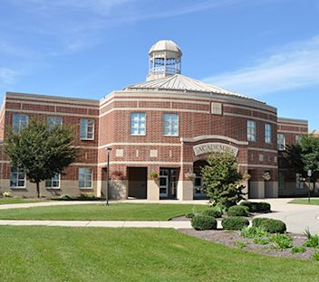 Image of a high school building