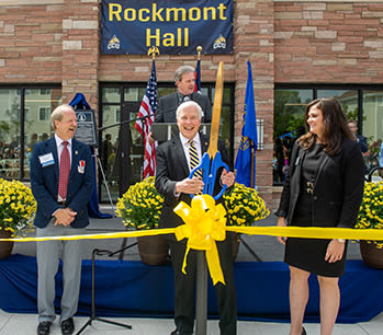 Don Sweeting opening the Rockmont Hall