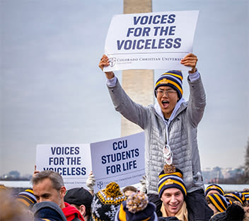 CCU students leading March for Life event in Washington, D.C.