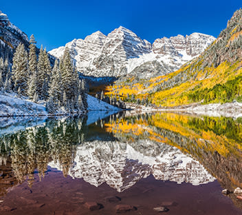 Maroon Bells Colorado 14er