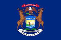 Flag of Michigan