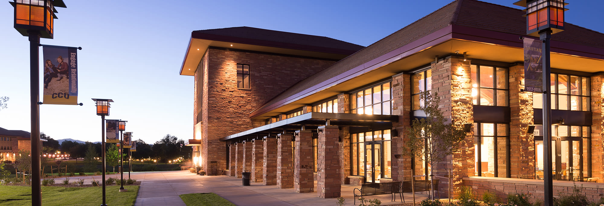 Anschutz Student Center at CCU