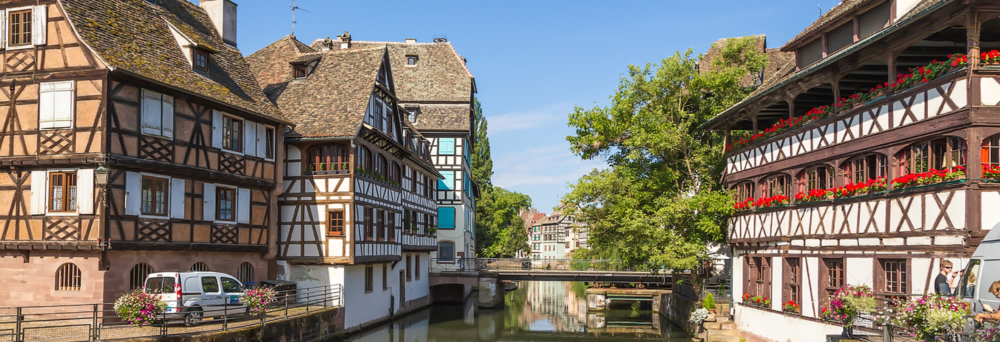 petite-france from the water