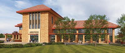 Anschutz Student Center Rendering