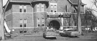 Rockmont College in Longmont
