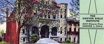 Denver Bible Institute at Glenarm