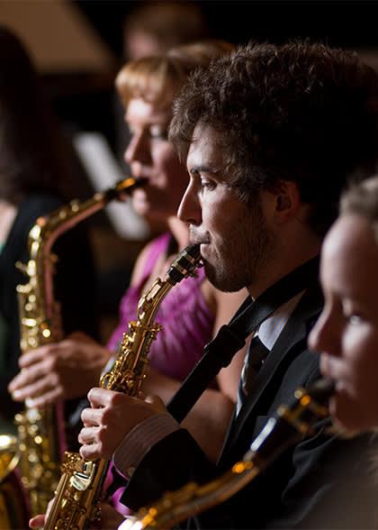symphonic band performance