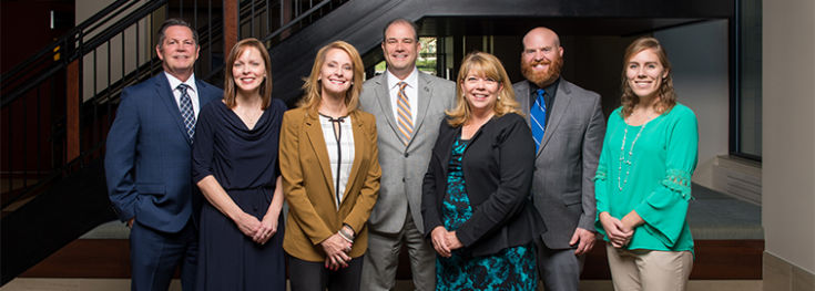 CCU University Advancement team