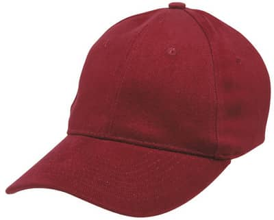 Maroon Redmill Brushed Cotton Cap