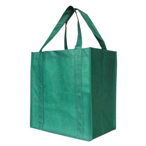 Green Custom Printed Non-Woven Shopping Bag