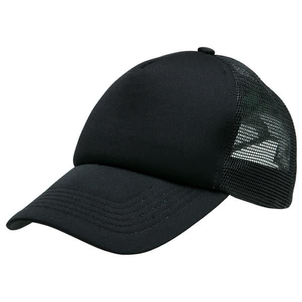 Black/Black Lodge Trucker Cap