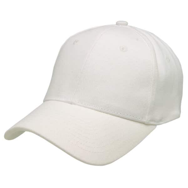 White Redmill Brushed Cotton Cap