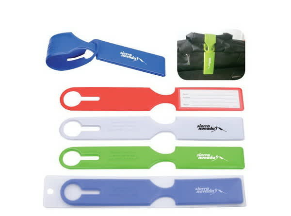 Red Voyage Luggage Tag
