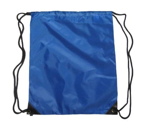 Royal Blue Nylon Drawstring Backsack