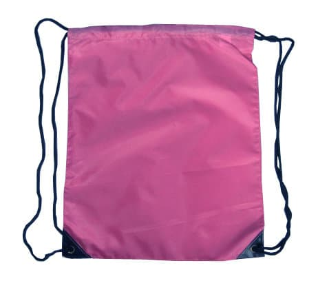 Violet Nylon Drawstring Backsack