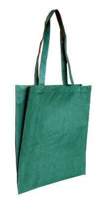 Green Non Woven Tote With V Gusset