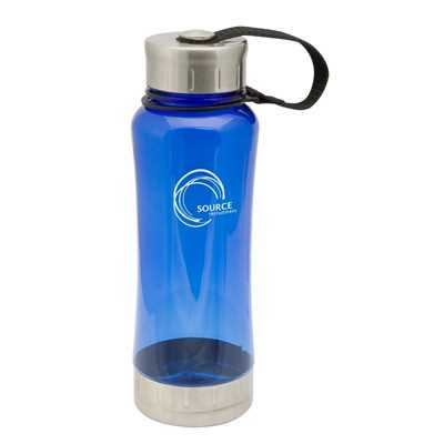 Translucent Blue Omaha Drink Bottle