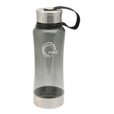 Translucent Charcoal Omaha Drink Bottle