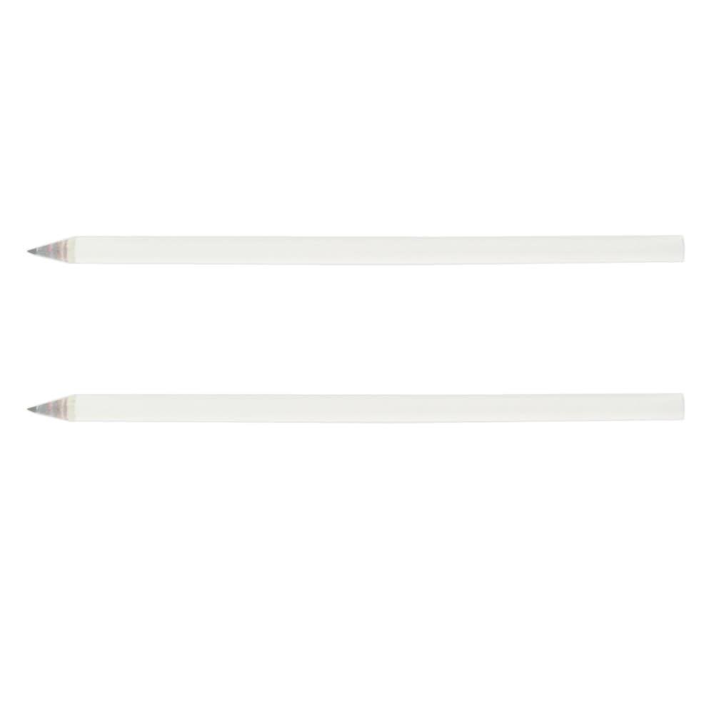 White Sharpened Full Length Pencil