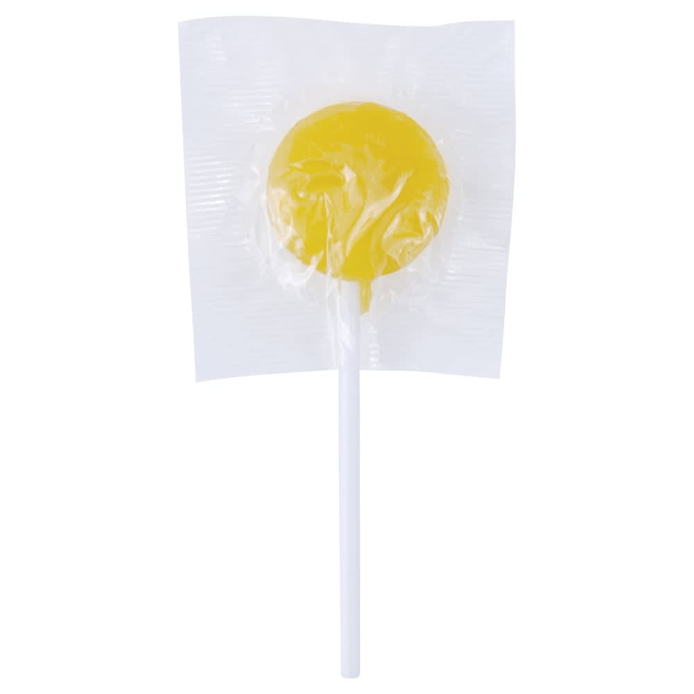 Yellow Corporate Colour Lollipops