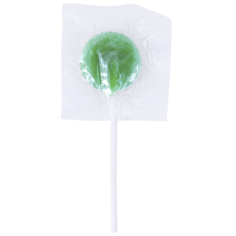 Green Corporate Colour Lollipops