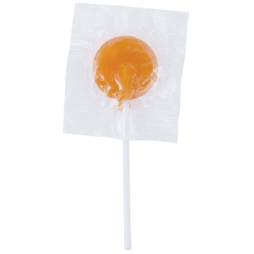 Orange Corporate Colour Lollipops