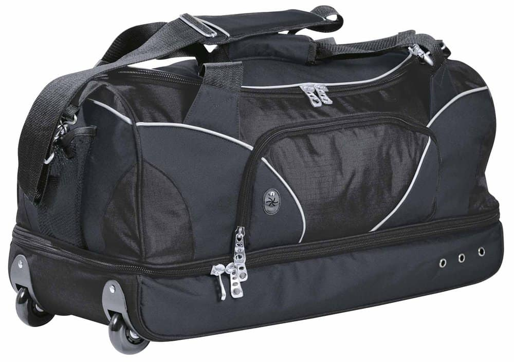 Black/Charcoal Turbulence Travel Bag