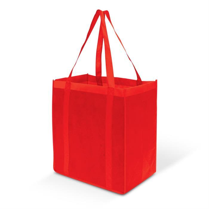 Red Super Tote Bag