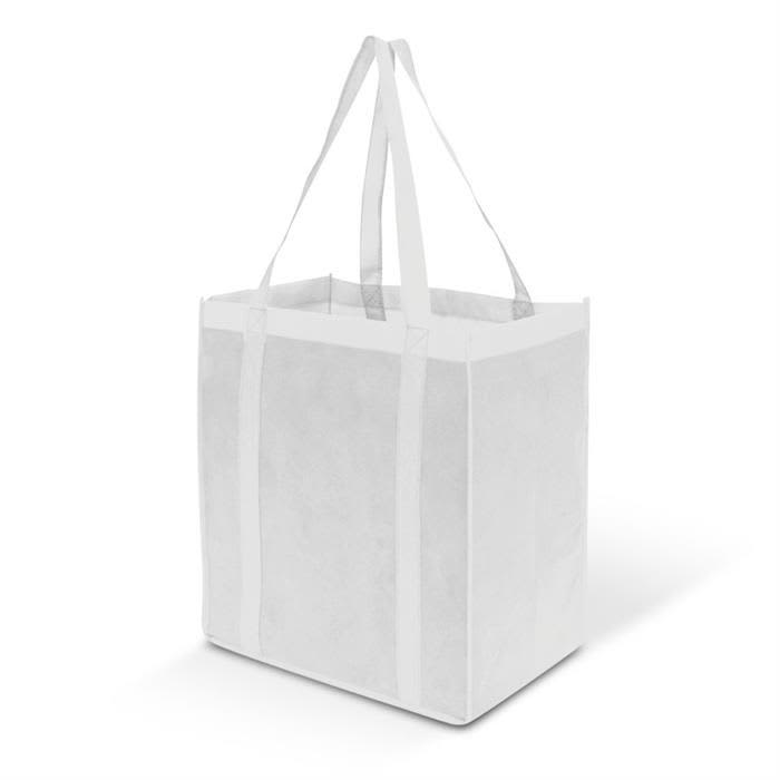 White Super Tote Bag