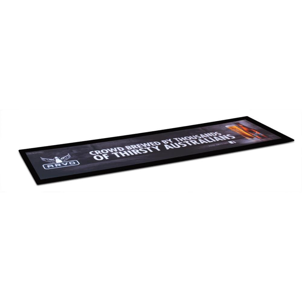 Black Large Counter Mat