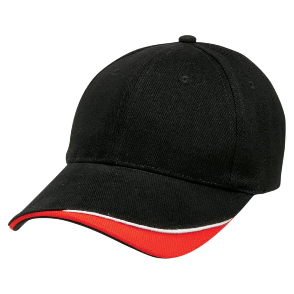 Black/White/Red Stampton Cap