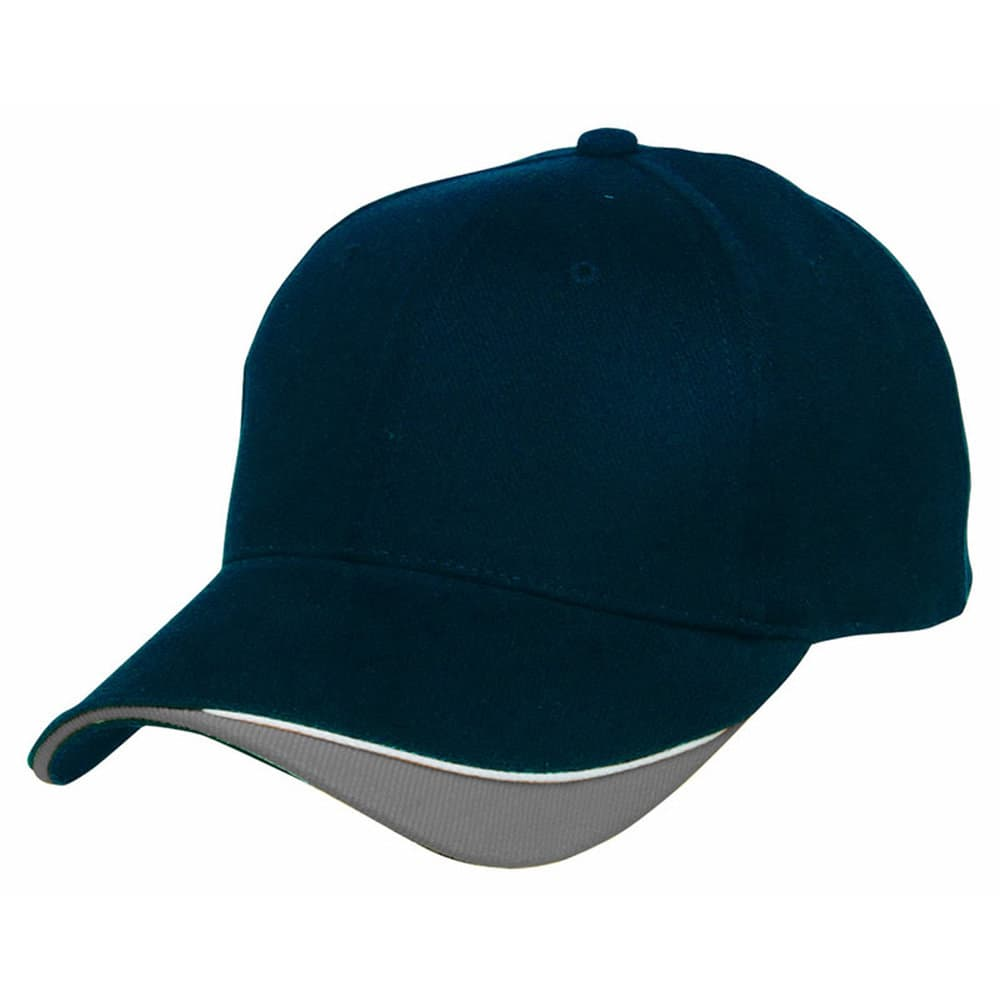Navy/White/Grey Stampton Cap