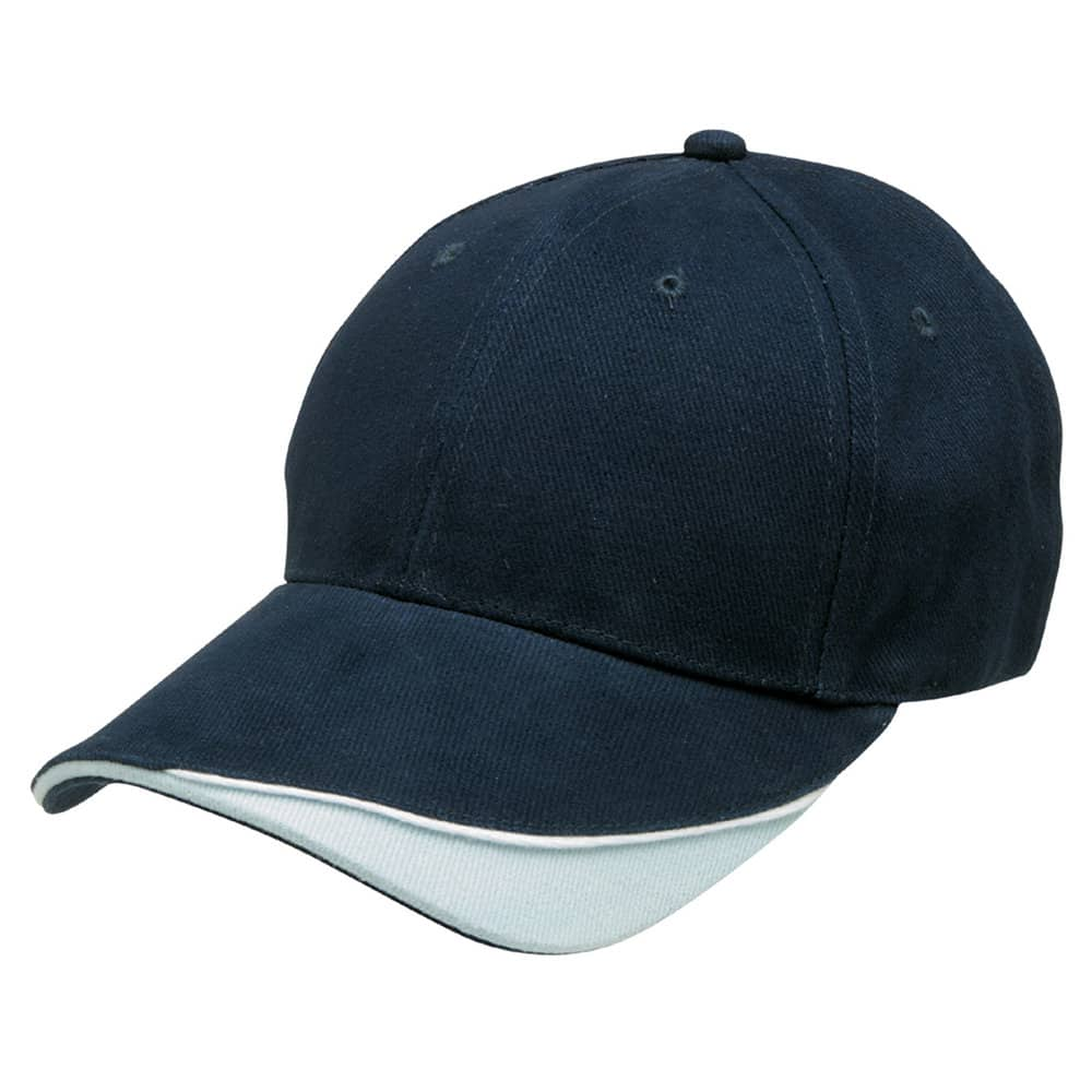 Navy/White/Powder Blue Stampton Cap
