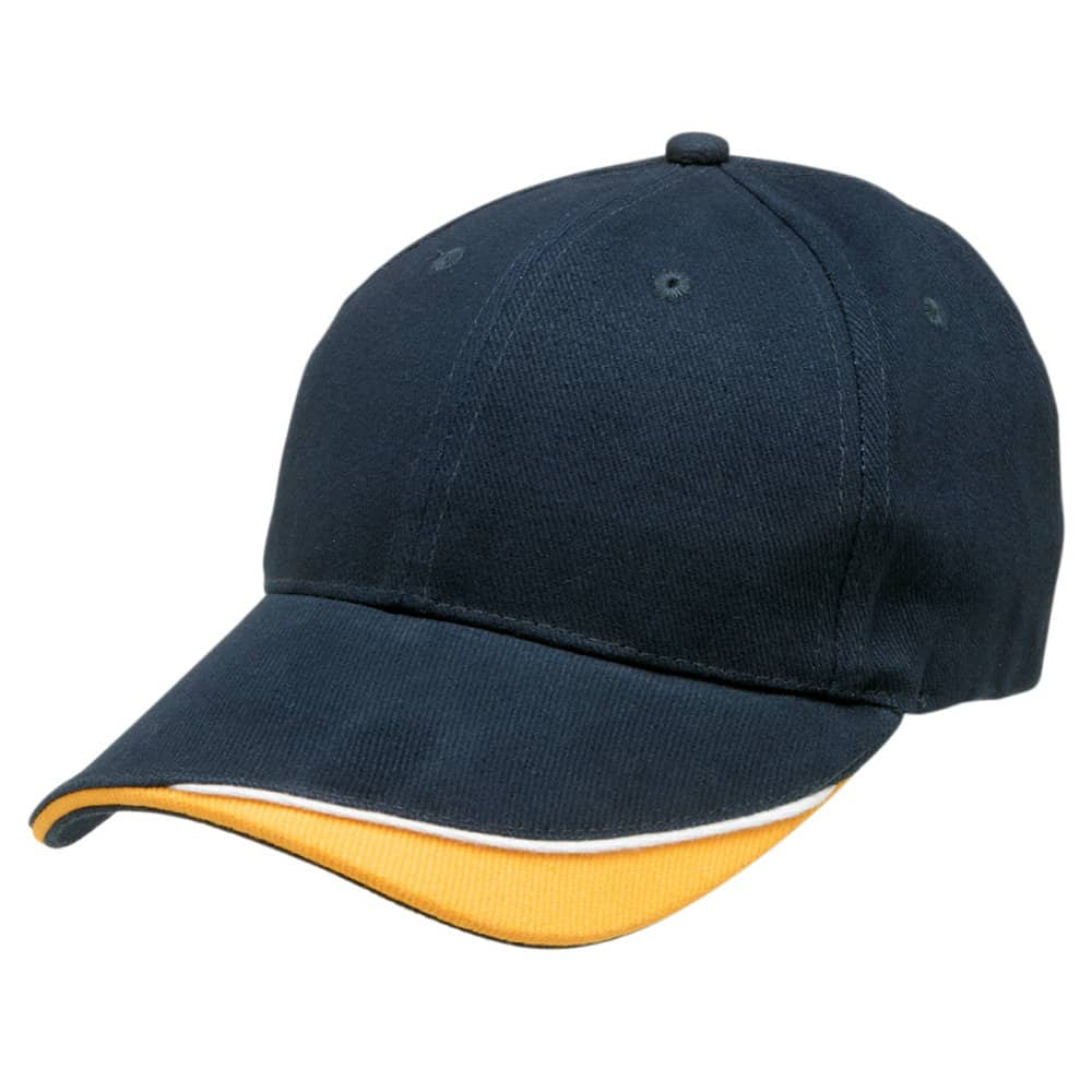 Navy/White/Gold Stampton Cap