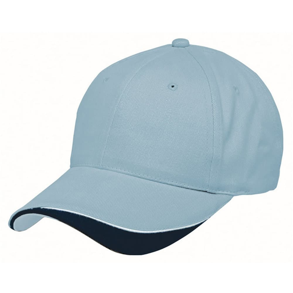 Powder Blue/White/Navy Stampton Cap