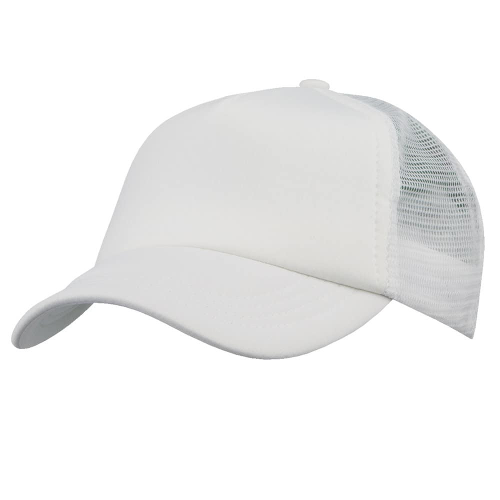 White/White Lodge Trucker Cap