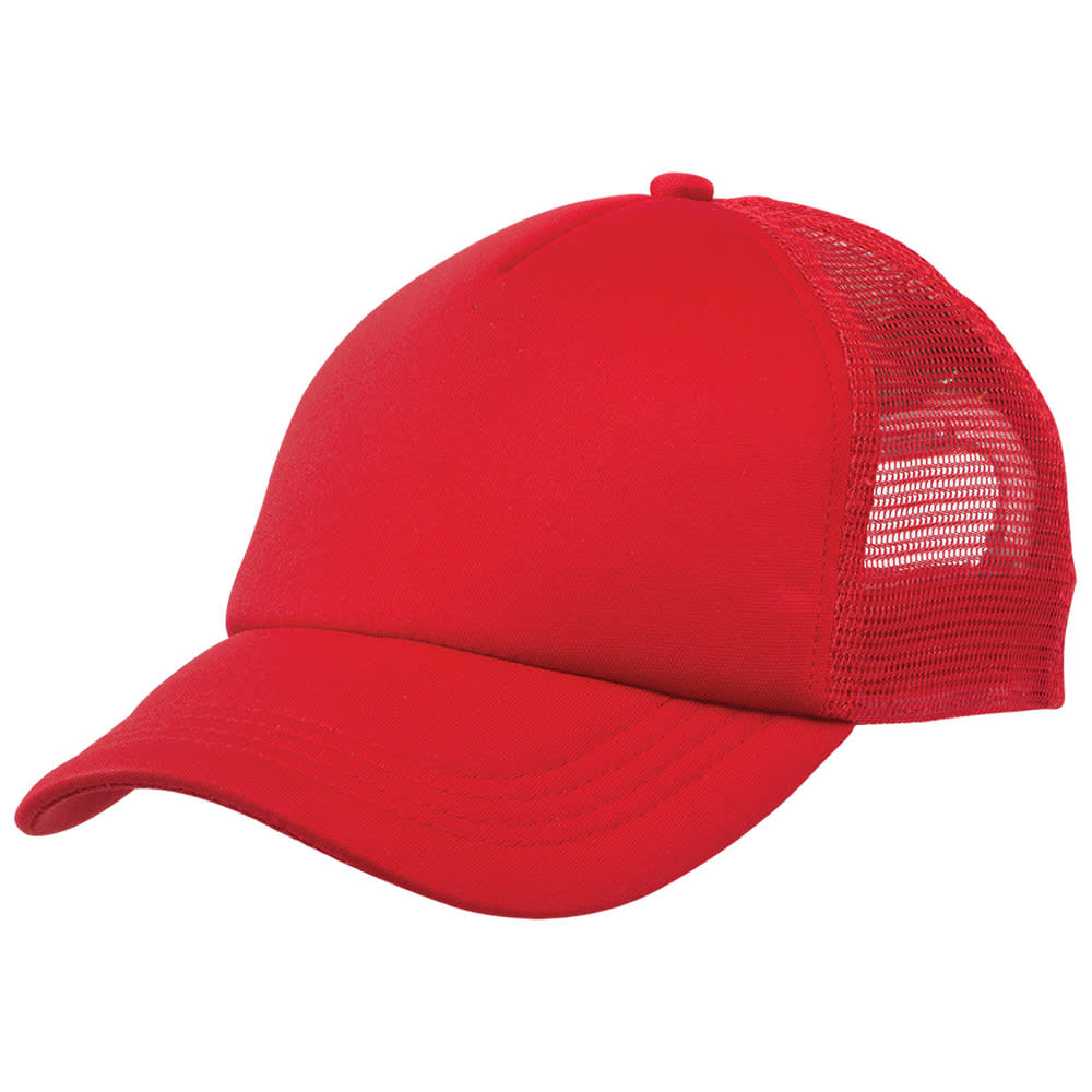 Red/Red Lodge Trucker Cap