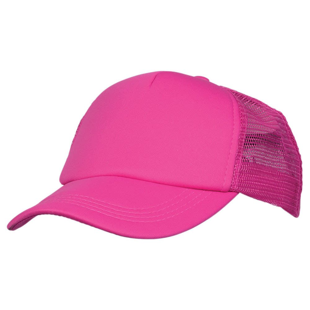 Hot Pink/Hot Pink Lodge Trucker Cap