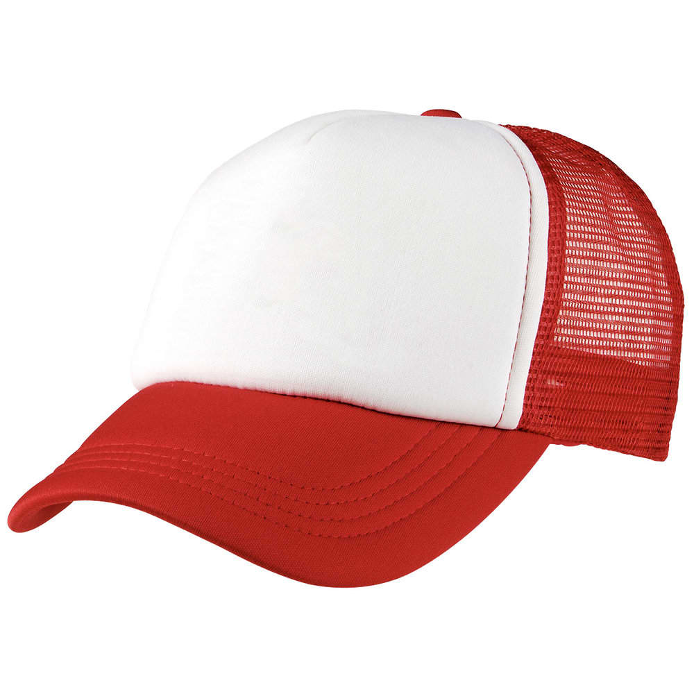 Red/White Lodge Trucker Cap