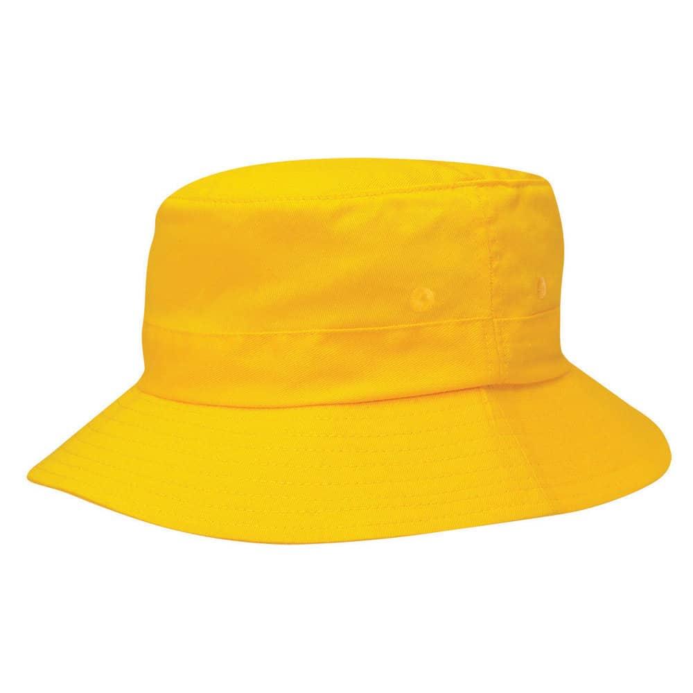 Gold Junior Bucket Hat