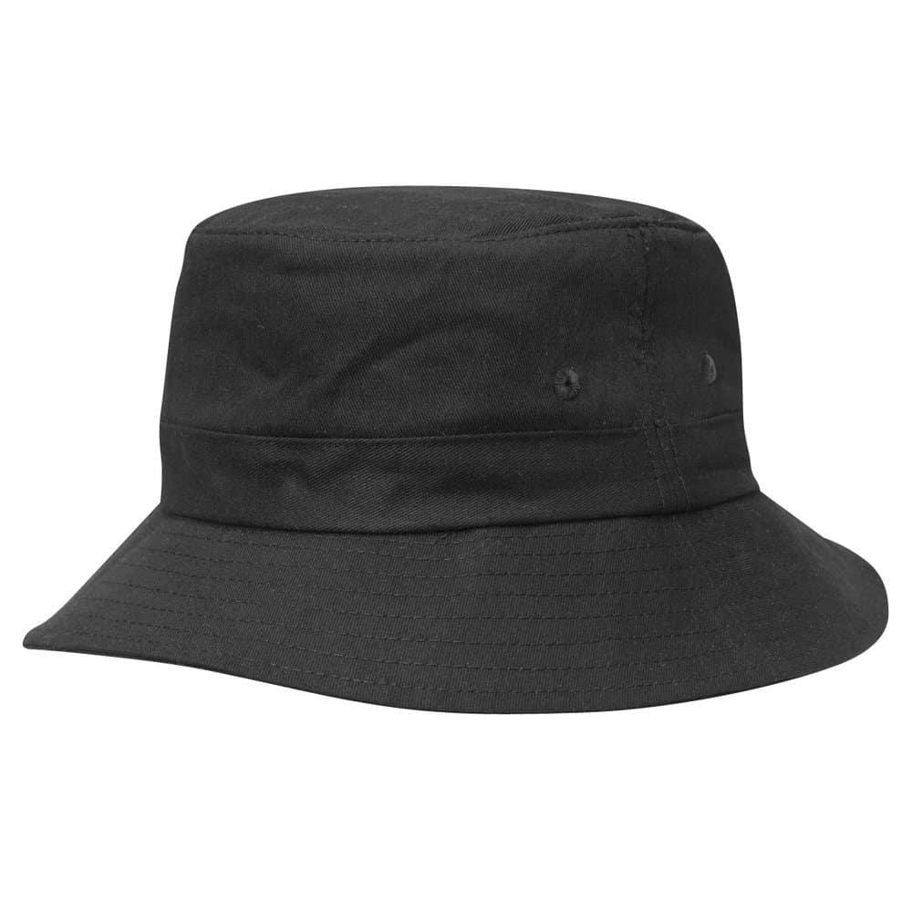 Black Junior Bucket Hat
