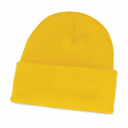 Yellow Monty Beanie