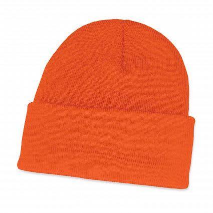Orange Monty Beanie