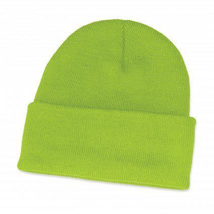 Bright Green Monty Beanie